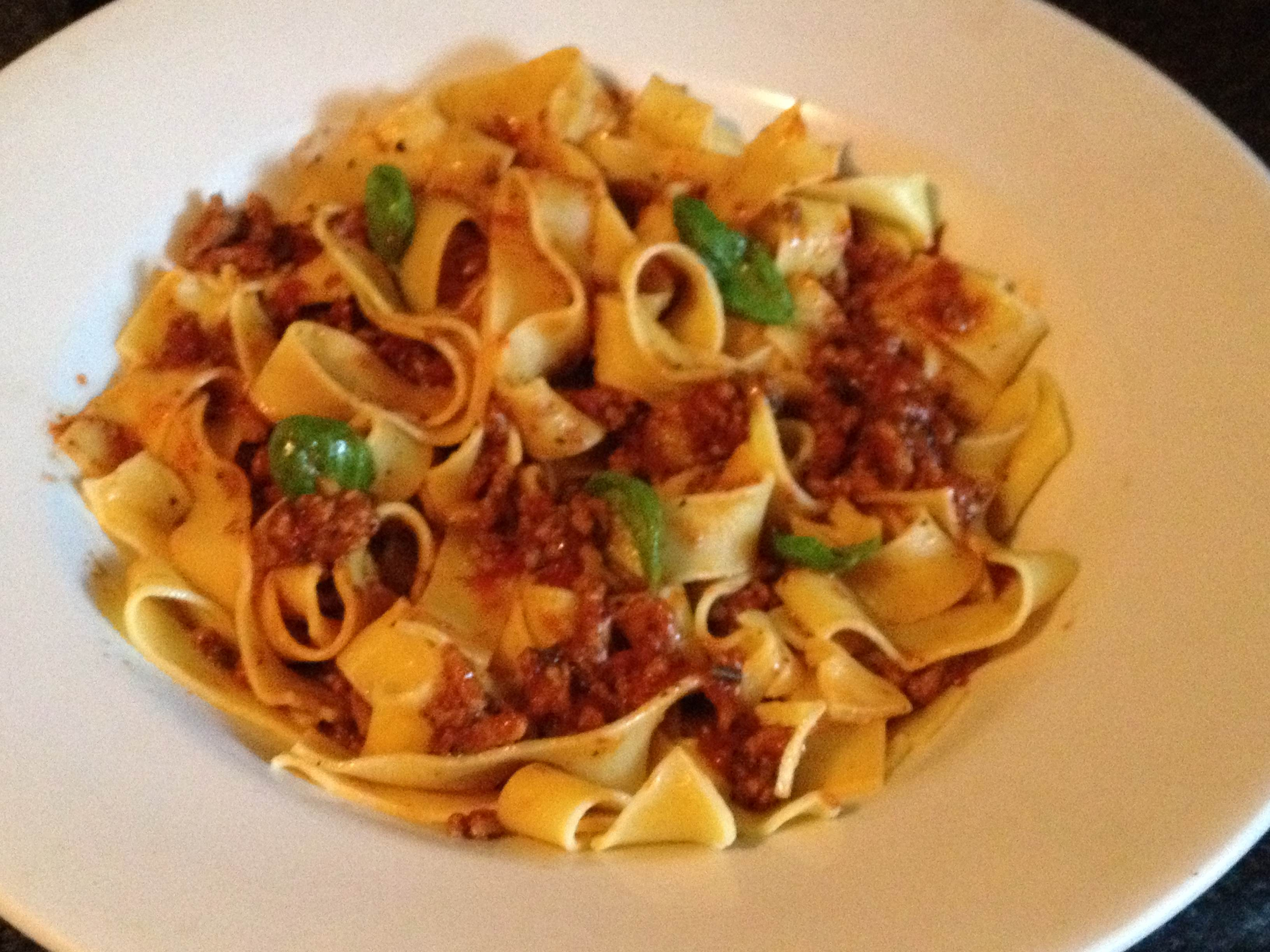 parpadelle with lamb bolognese recipes dishmaps lamb bolognese ...